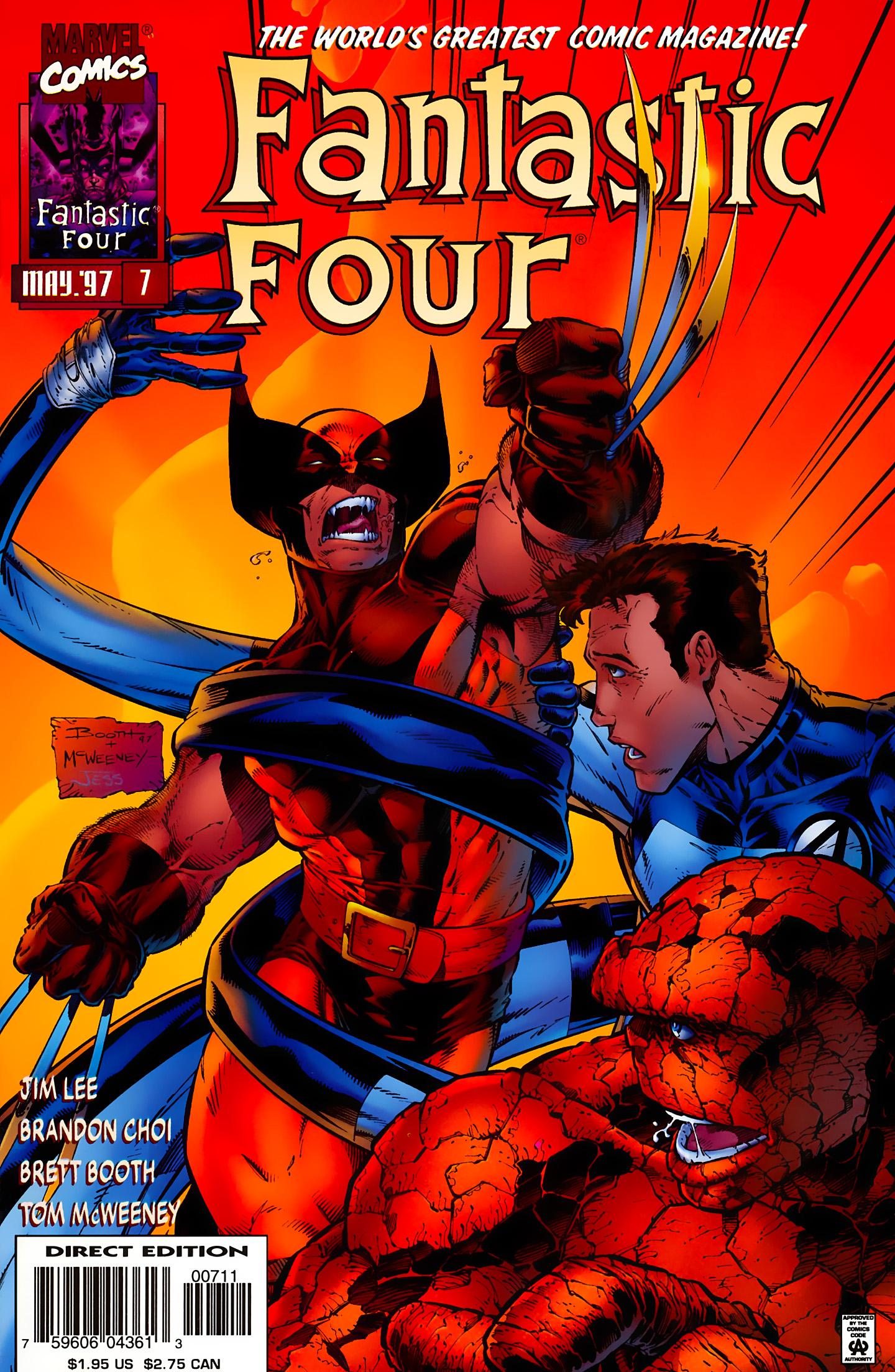 Fantastic Four (1996) 7 Page 1