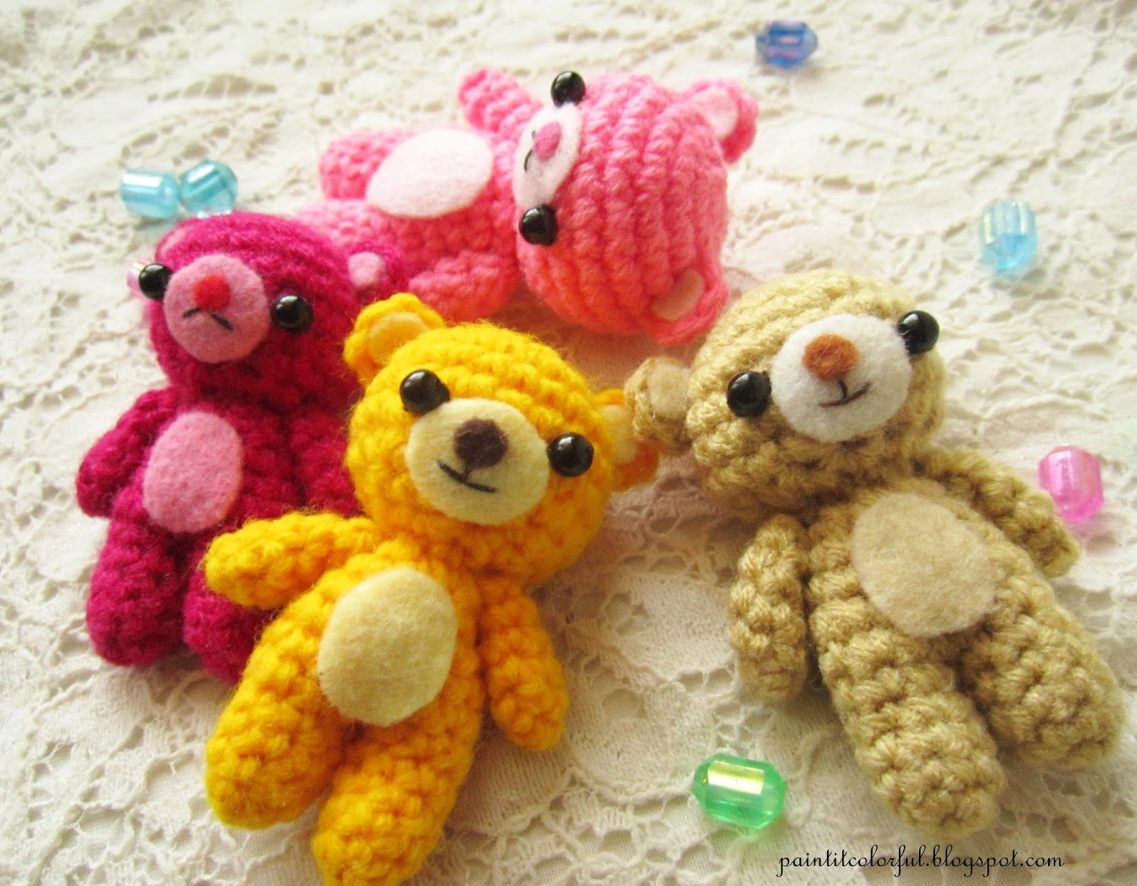 Amigurumi Little Teddy Bear : Amigurumi Teddy bear pattern - A little love everyday!