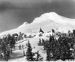 Mt. Hood and Timberline Lodge 1943