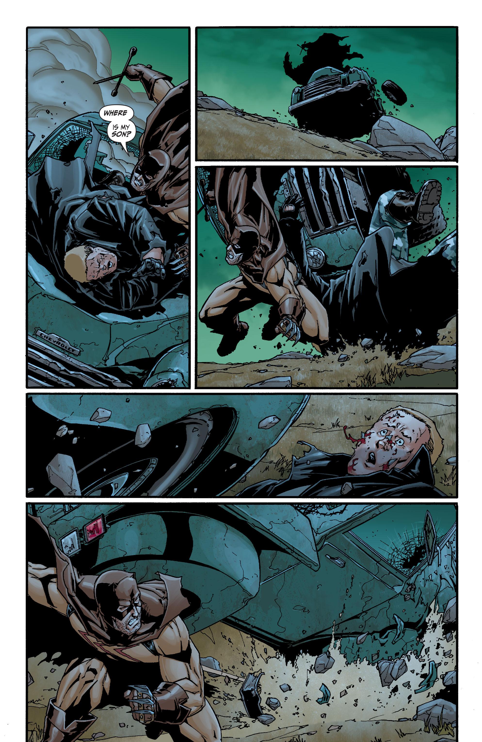 Read online Secret Six (2008) comic -  Issue #21 - 21