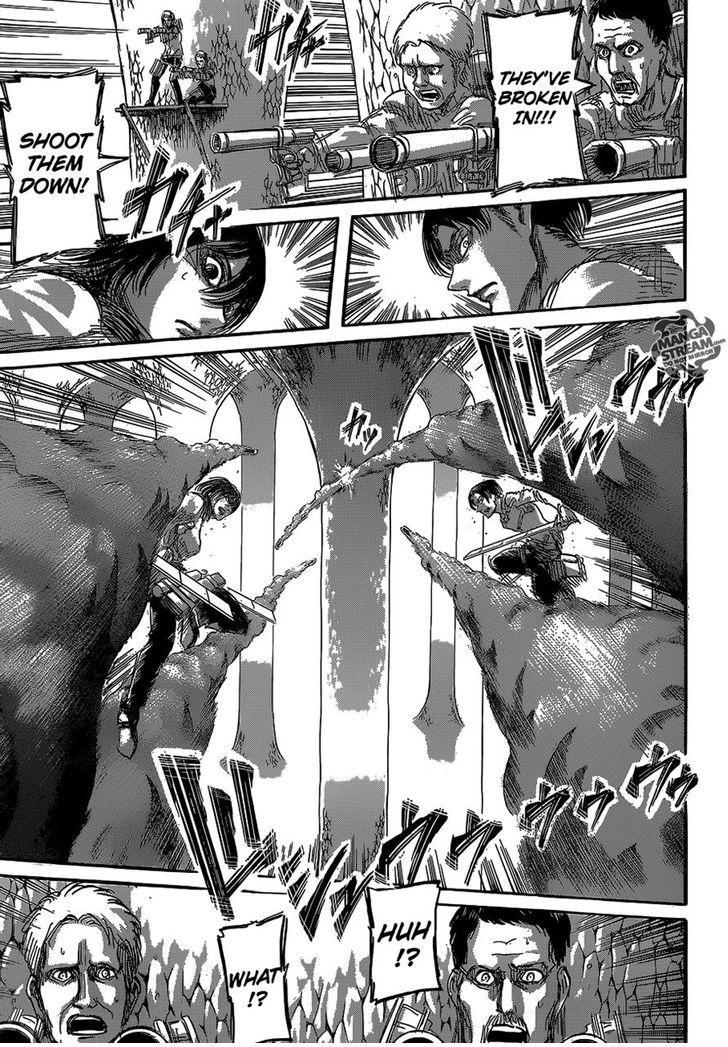 Shingeki no Kyojin Ch 64 - Welcome Party