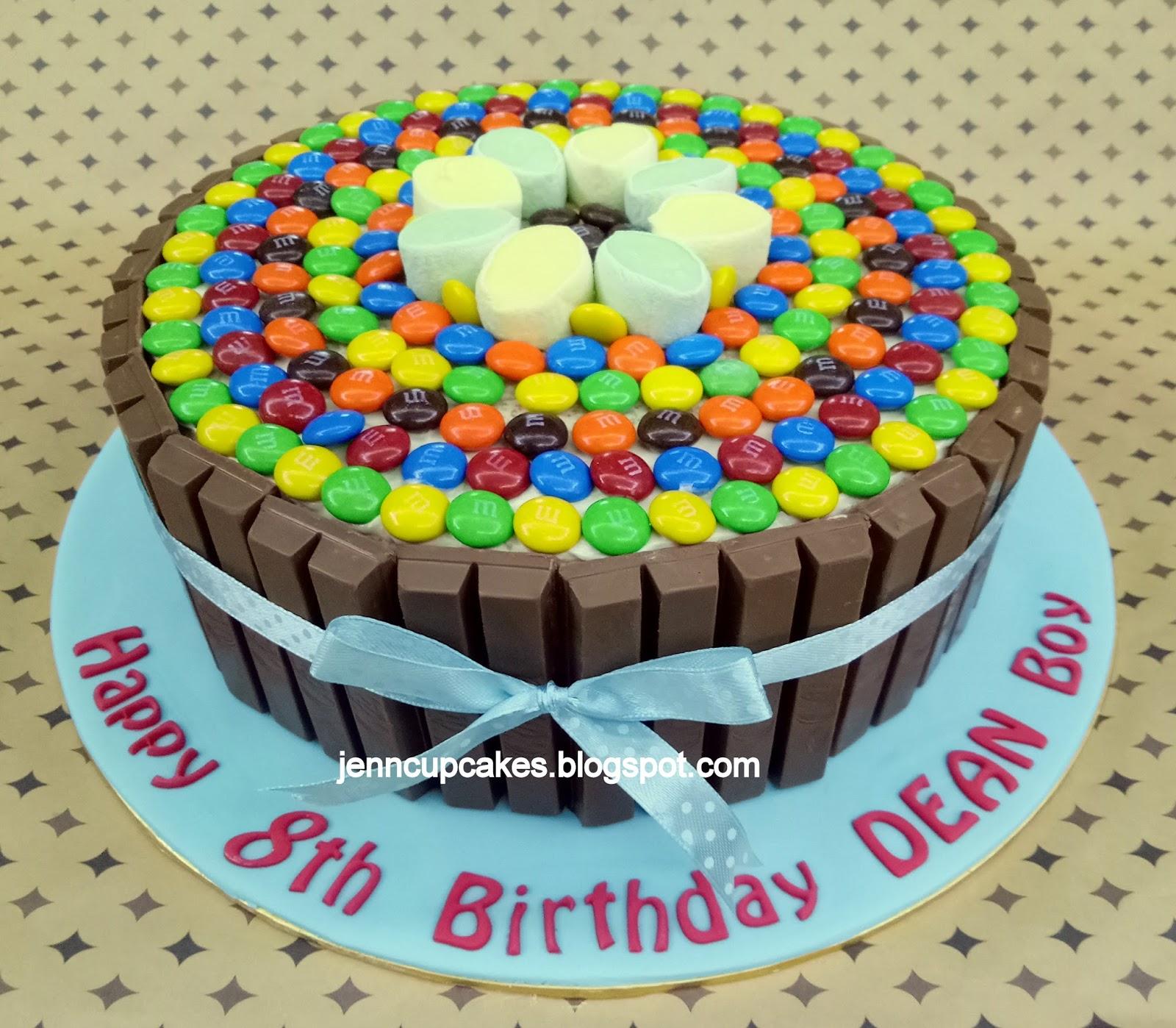 Jenn Cupcakes Amp Muffins Kit Kat M Amp Ms Cake