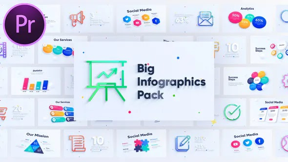 Videohive Corporate Infographics Charts Pack 28408670