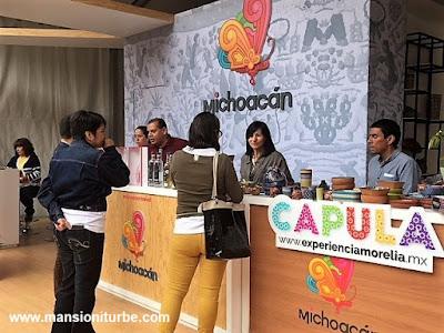 Stand de Michoacán en Comali, Festival de la Cocina Mexicana