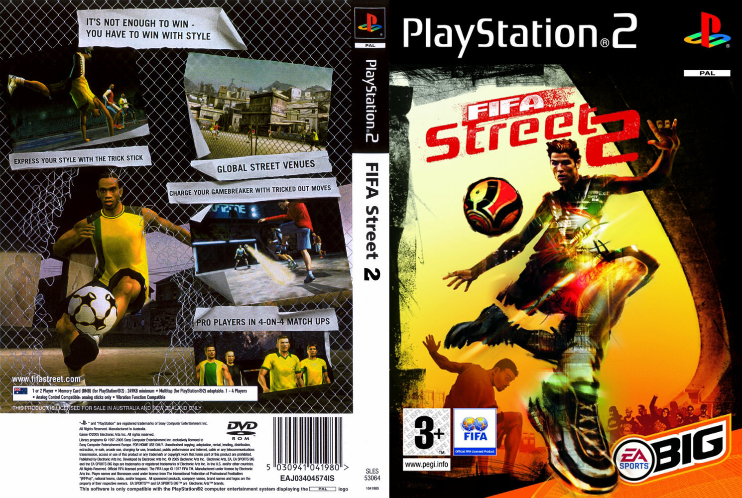 fifa street 2 ps2 iso free download