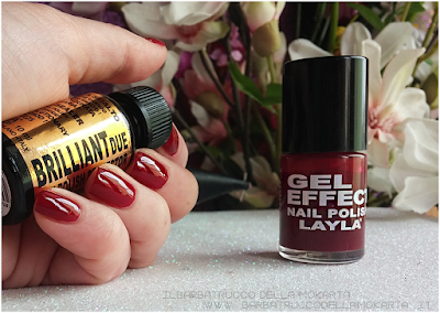 recensione BrilliantDue Layla Cosmetics top coat