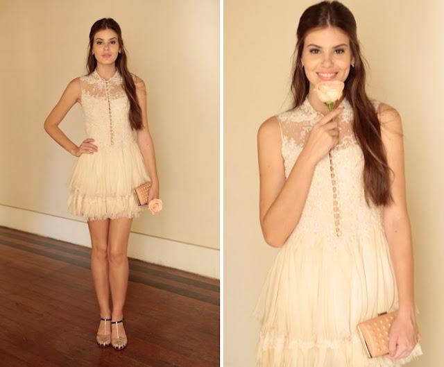 Angel / Arlete vestido branco casamento Carolina e Alex