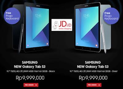 Samsung New Galaxy Tab S3