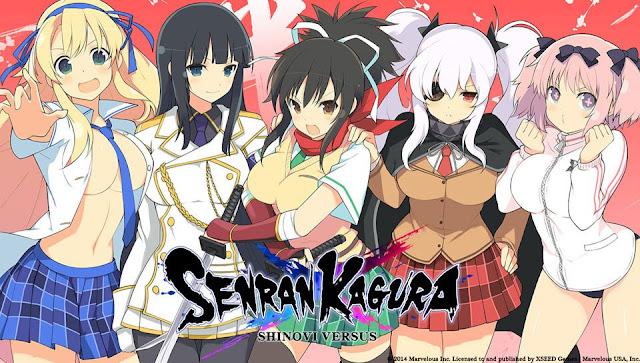Download Anime Dragon Crisis Senran Kagura Season 2 Bd (Episode 1 - 9) Subtitle Indonesia X265