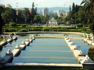Espelho d'Água em Frente ao Museu Paulista - São Paulo