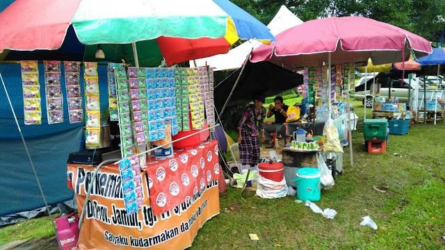 Road Race 2018 PALI Jadi Pintu Pedagang Asongan Raih Rezeki