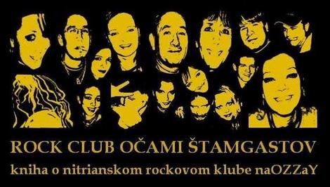 Rock Club očami štamgastov, Rock Club naOZZaY, kniha o naOZZaY, Martin Užák, Ján Mihál