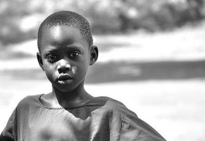 nigerian boy selling cotton wool