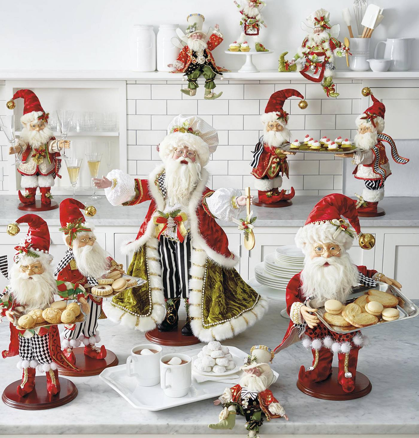 Frontgate Mark Roberts Santa Figurines