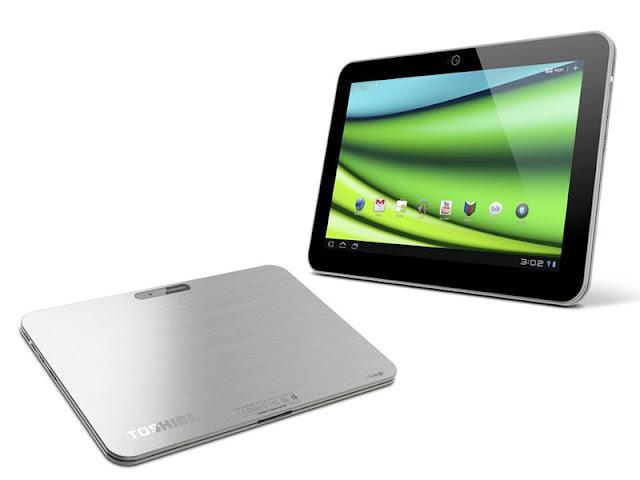 Vendor asal negeri Sakura ini tampaknya ingin unjuk gigi dengan kehadiran tablet Android  Toshiba Excite 10, Tablet Android ICS dengan Prosesor Tegra 3 Quad-Core