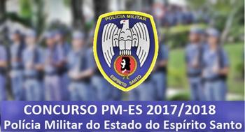 concurso Polícia Militar do Espirito Santo - PMES