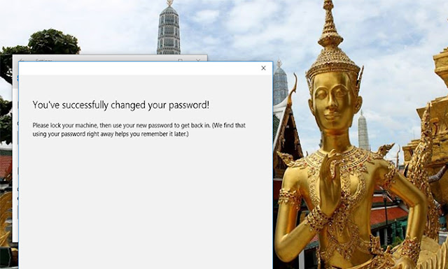 password selesai diganti