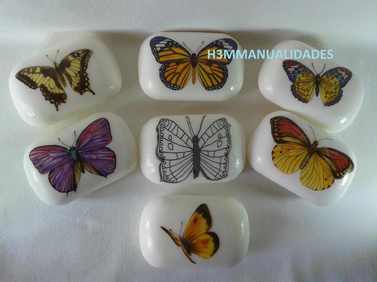 H3m Manualidades Jabones Decorados Con Mariposas - Que-manualidades-puedo-hacer