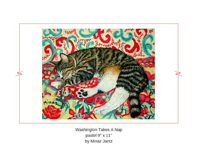 Washington Takes a Nap by Minaz Jantz