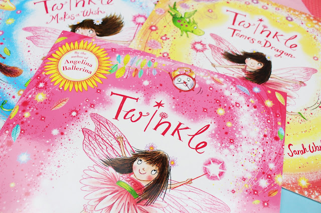 Sarah Warburton illustration book Twinkle the Fairy