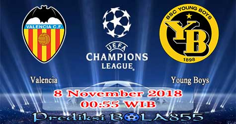Prediksi Bola855 Valencia vs Young Boys 8 November 2018