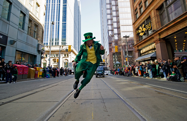 Happening Weekend Toronto, St Patricks Day Parade