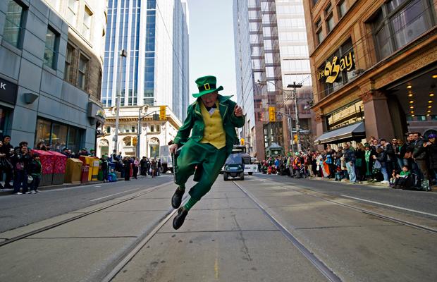 Happening Weekend Toronto, St Patricks Day Parade