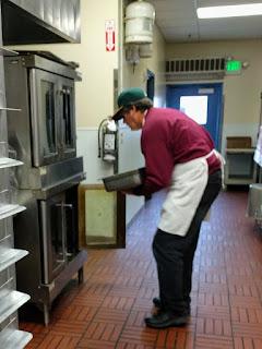 Dean, pulled pork, St Vincent de Paul, Salt Lake City, kitchen
