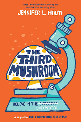 Though The Third Mushroom is the sequel to The Fourteenth Goldish (another great read!) this book still stands on its own. With interesting characters and a touch of middle school romance middle grade readers will devour it! #TheThirdMushroom #NetGalley #ChapterBooks #MiddleGrades #UpperElementary #RandomHouse