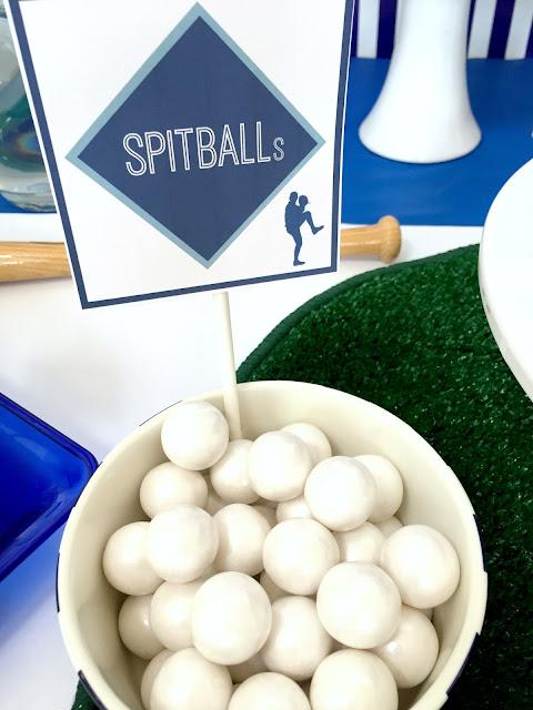 Baseball Party-- Spitballs