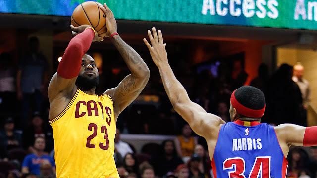 LeBron James domine Harris | PistonsFR, actualité des Detroit Pistons en France