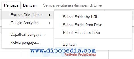 Ilustrasi Cara Mudah Membuat Daftar Berkas Pada Folder Google Drive
