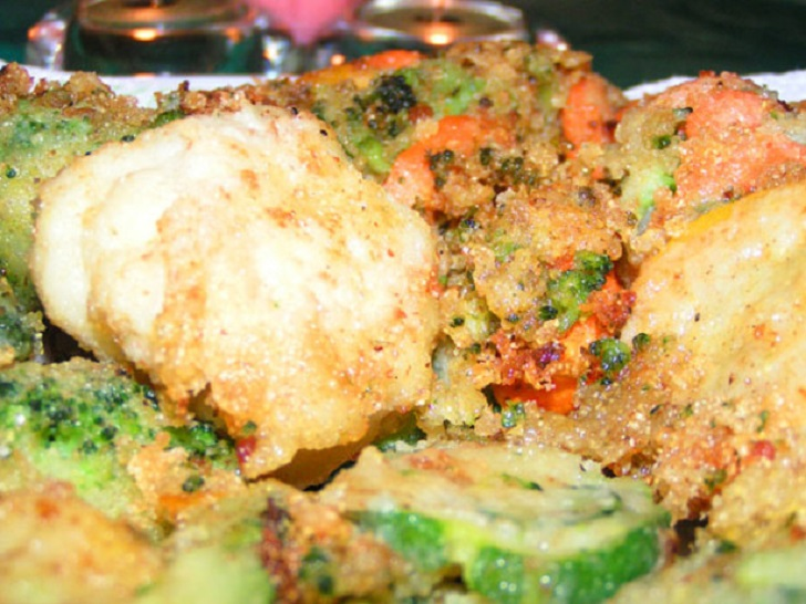 DEEP FRIED VEGETABLES RECIPE