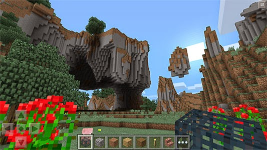 Screenshot Game Minecraft Pocket Edition