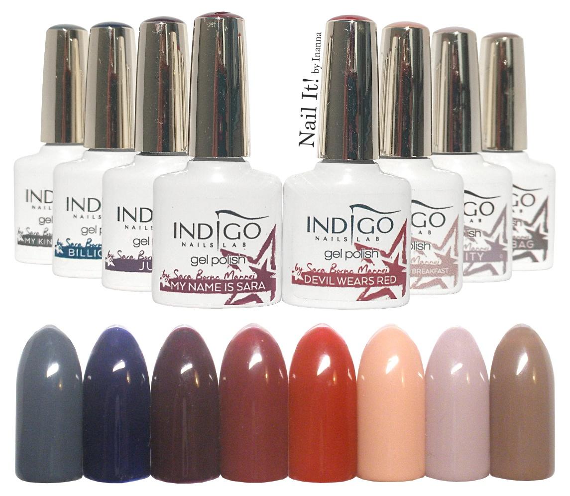 Indigo X Sin - Sara Boruc Mannei Gel Polish Collection