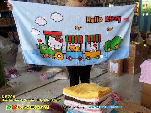 Handuk Anak Sanrio Kitty 60x120 Cm