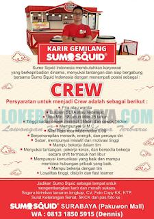Loker Terbaru di Sumo Squid Surabaya Februari 2019