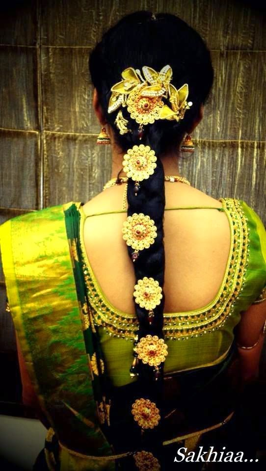 South Indian Bridal Hairstyles