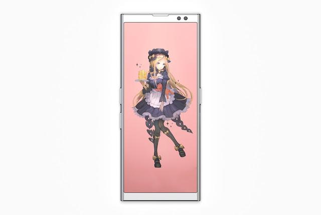 LG Chocolate U | Curved Glass Display | 2018