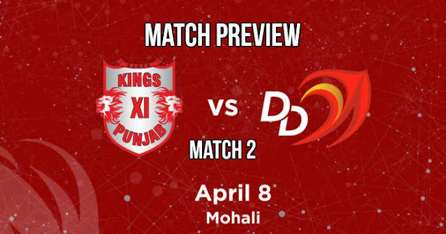 IPL 2018 Match 2 KXIP vs DD: Preview, Prediction and Head to Head: Who Will Win?
