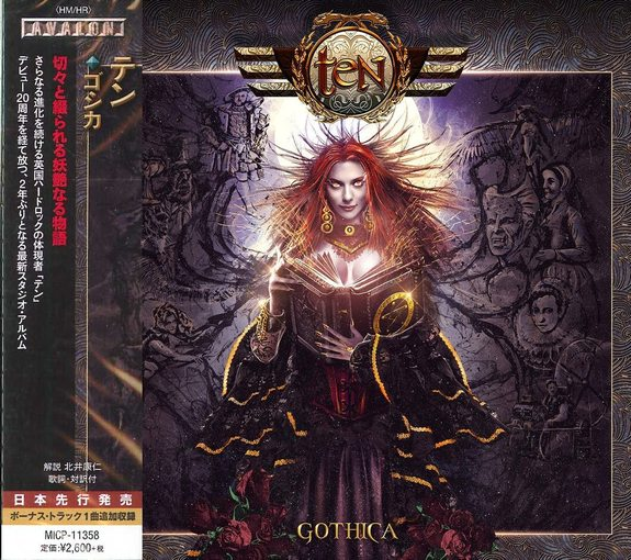 TEN - Gothica [Japanese Edition +1] (2017) full