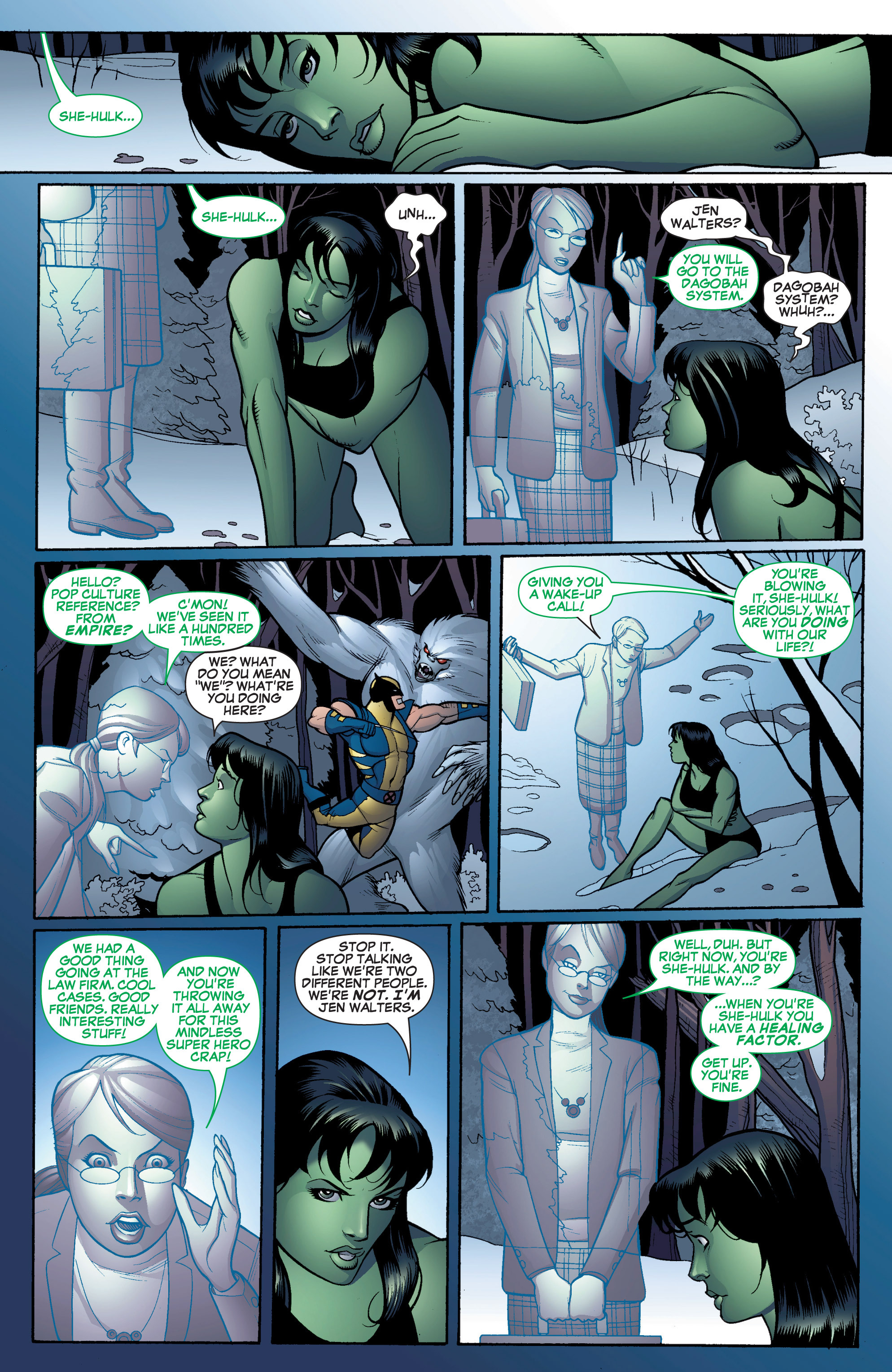 Read online She-Hulk (2005) comic -  Issue #16 - 13