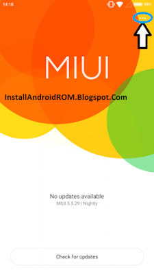 Check MIUI OTA Update For XIAOMI
