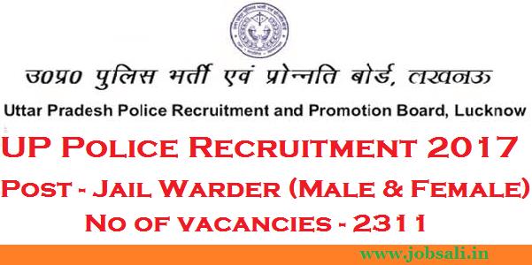 UP Police Vacancy, UP Govt jobs, Jobs in Lucknow
