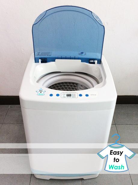 วิธีใช้งานเครื่องซักผ้ามินิ easytowash