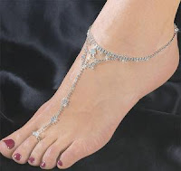 Bead Anklets Handcrafted Indian Foot Jewelry