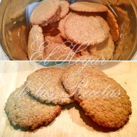 Galletas digestive de avena y coco rallado