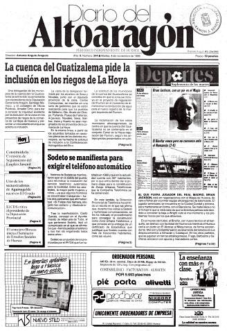 Fañanás: La cuenca del Guatizalema pide la inclusión en los riegos de La Hoya