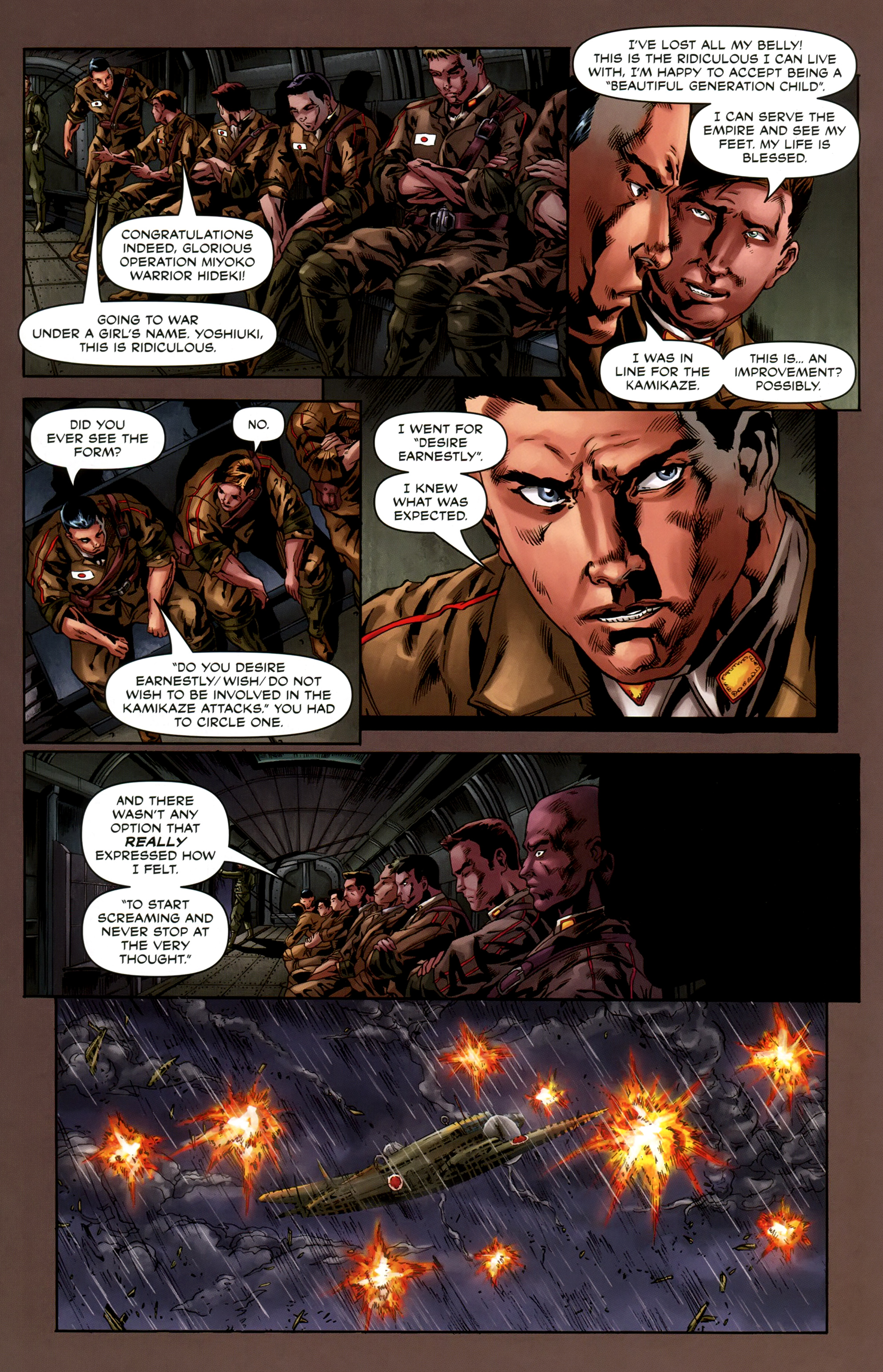 Read online Uber comic -  Issue #6 - 26
