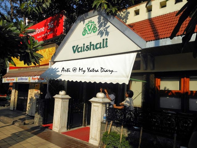 One of the most famous eating South Indian joint in Pune - Vaishali Restaurant, FC Road, Maharashtra